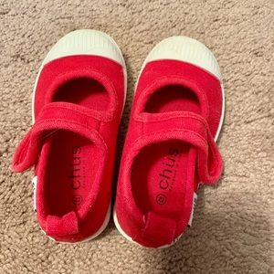 Chus red shoes
